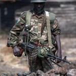 Askari wa Kongo katika picha-wakiwa-msatari-wa-mbele vitani huko Kivu ya Kaskazi