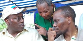 Freeman Mbowe, Dr Wilbroad Slaa na Zitto Kabwe wa CHADEMA