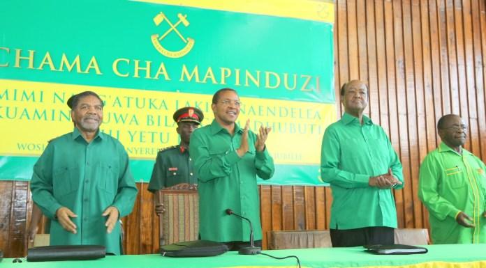 Viongozi wa Halmashauri Kuu ya CCM 2015