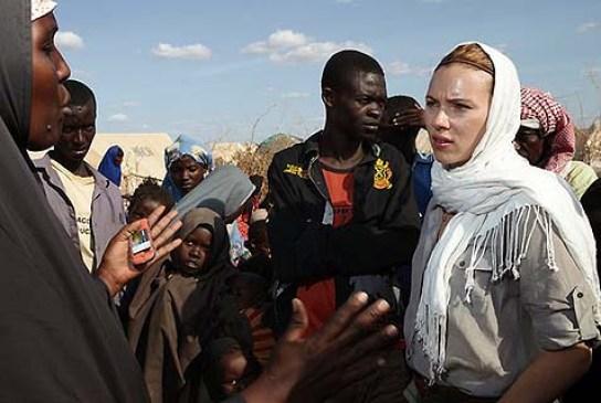 Image result for scarlett johansson - oxfam