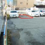 駐車スペース赤枠
