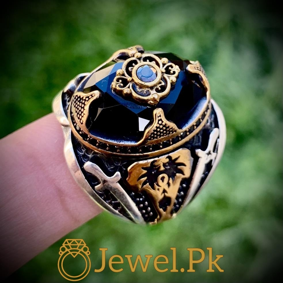 925 Silver Turkish Ring - Luxury Jewelry