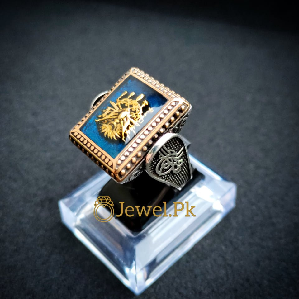 Ultra Luxury Turkish Ring 925 Silver Buy online in Pakistan