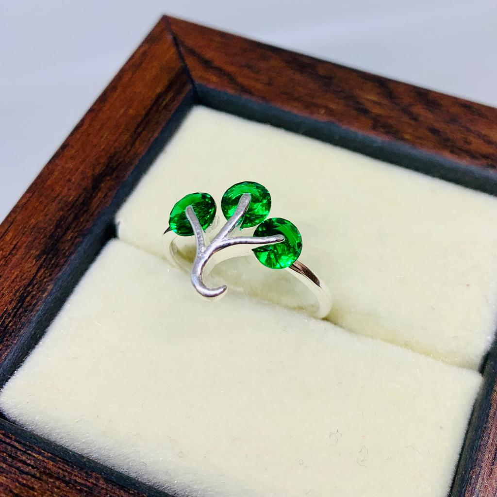 Beautiful Ring For Woman - Buy Chandi Silver ladies rings online in Pakistan