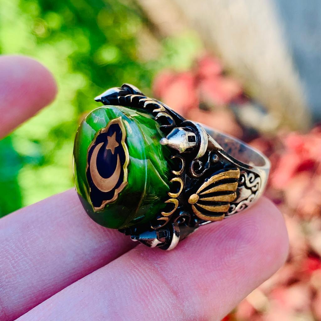 Turkish Ring - Handmade Silver 925 Turkish Rings