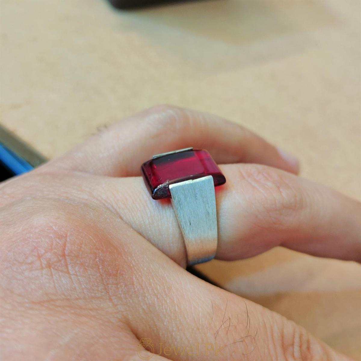 925 Silver handmade rings 4 natural gemstones pakistan + 925 silver jewelry online