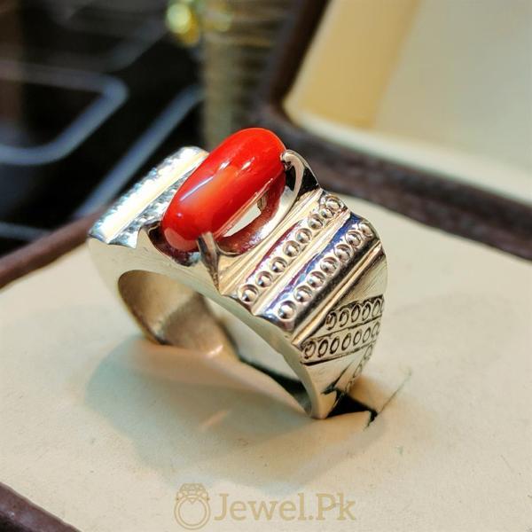 marjan ring + marjaan ring red coral ring