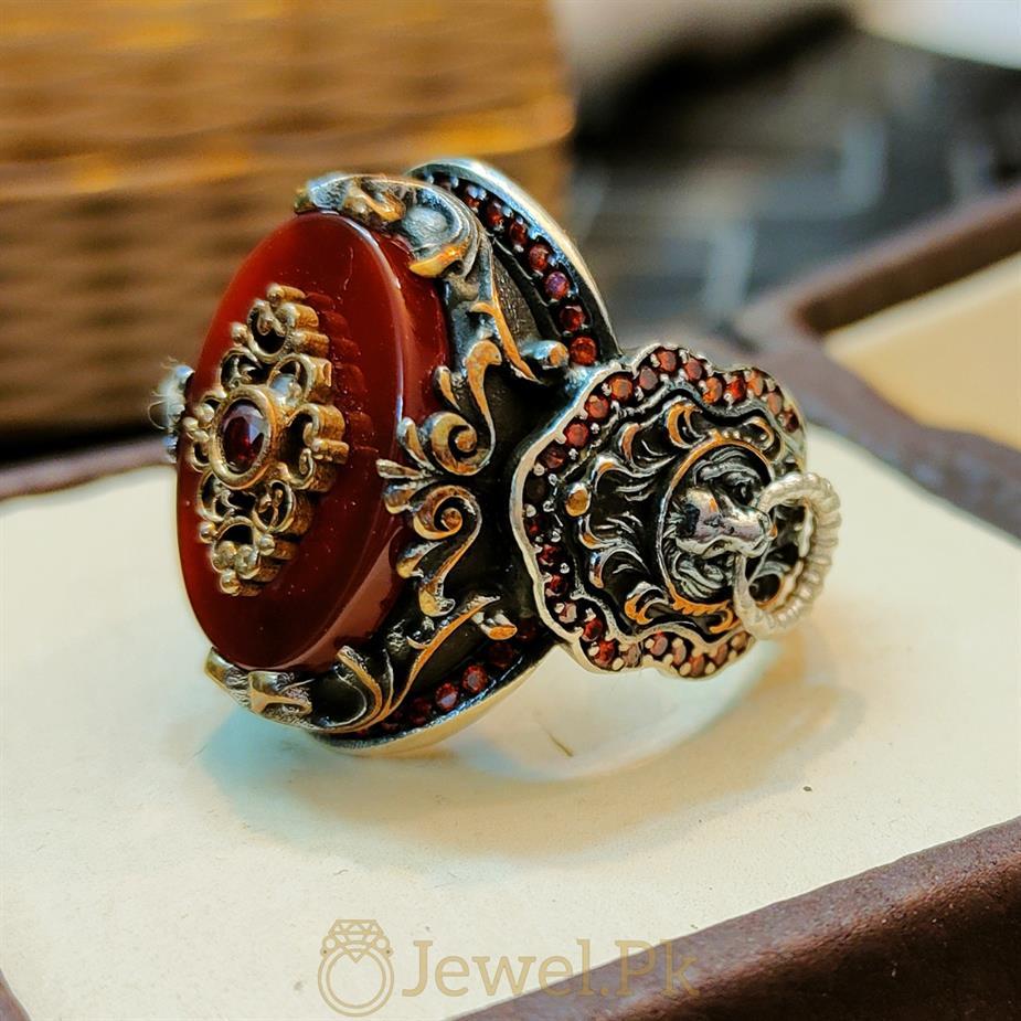 Turkish Ring Master Piece 2 1 natural gemstones pakistan + 925 silver jewelry online