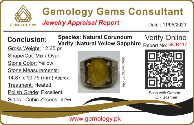 GCR117 1 natural gemstones pakistan + 925 silver jewelry online