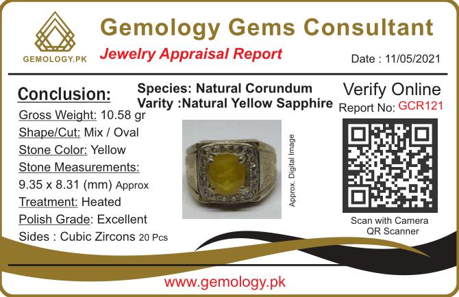 GCR121 1 natural gemstones pakistan + 925 silver jewelry online