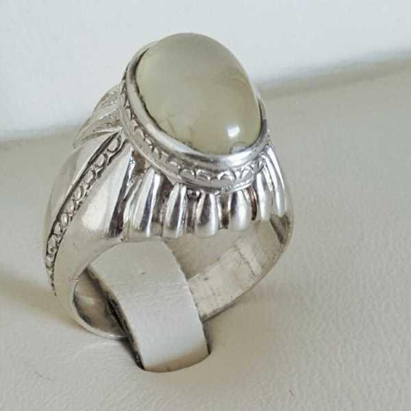 Yemeni Aqeeq Ring Handmade Ring
