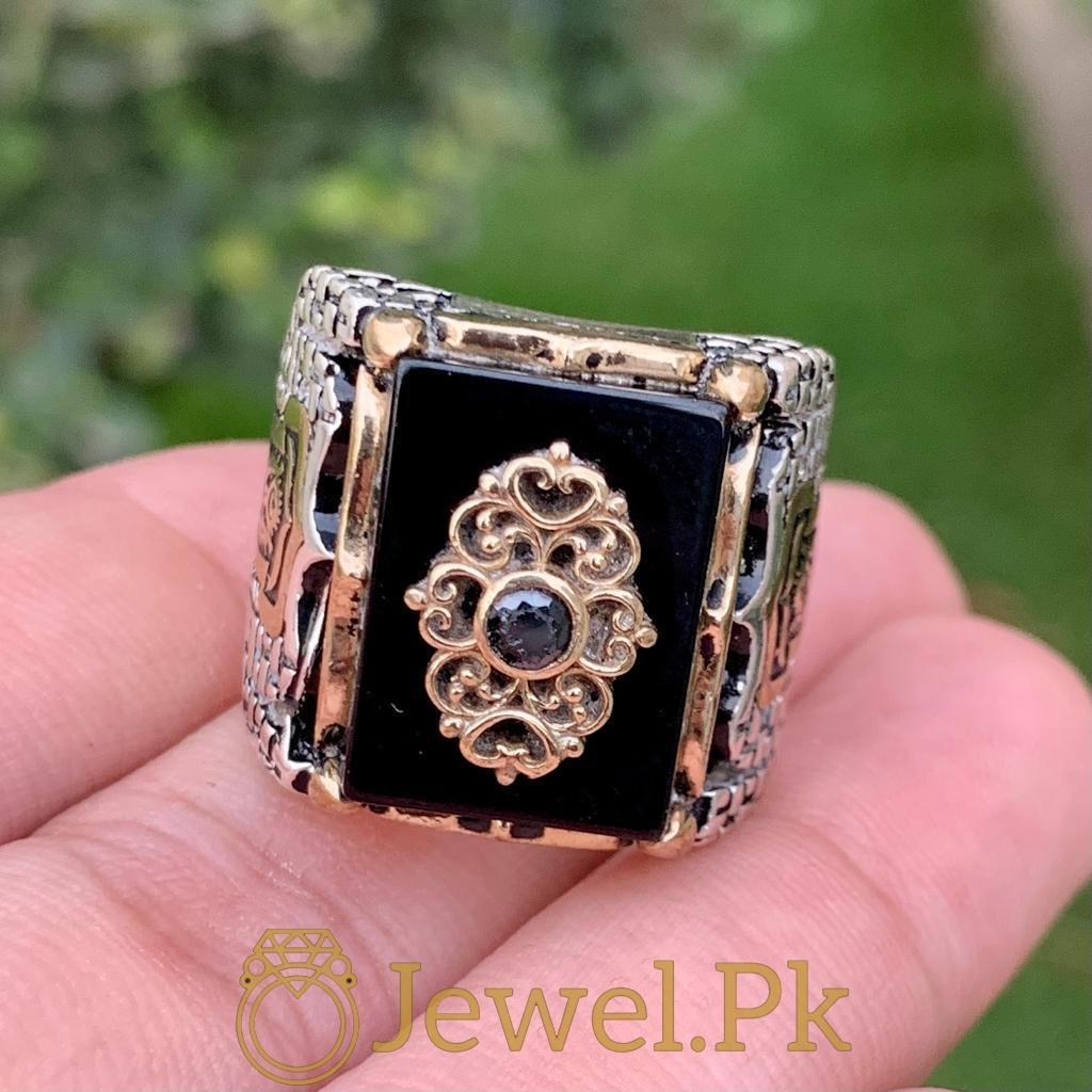 Turkish Rings Ottoman Ring Buy online Silver 925 Turkish Ring 16 natural gemstones pakistan + 925 silver jewelry online