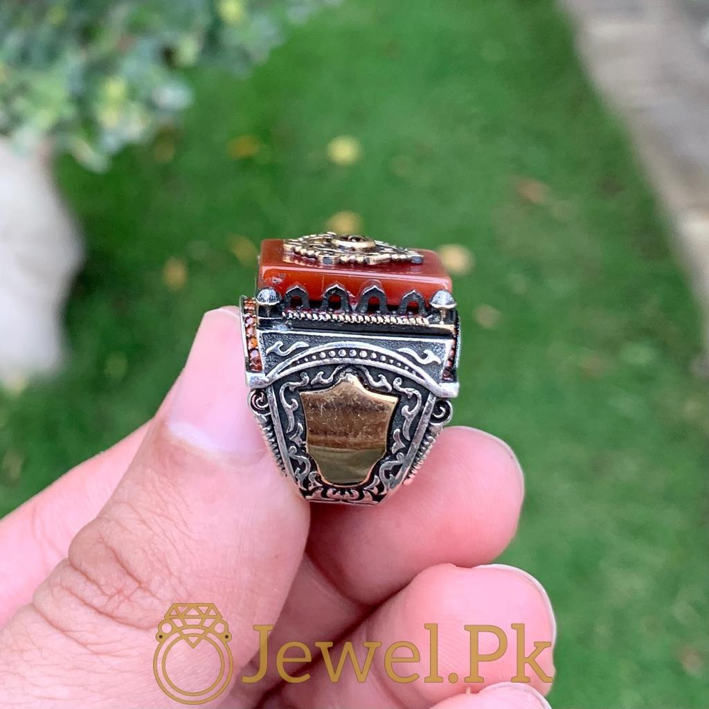 Turkish Rings Ottoman Ring Buy online Silver 925 Turkish Ring 29 natural gemstones pakistan + 925 silver jewelry online