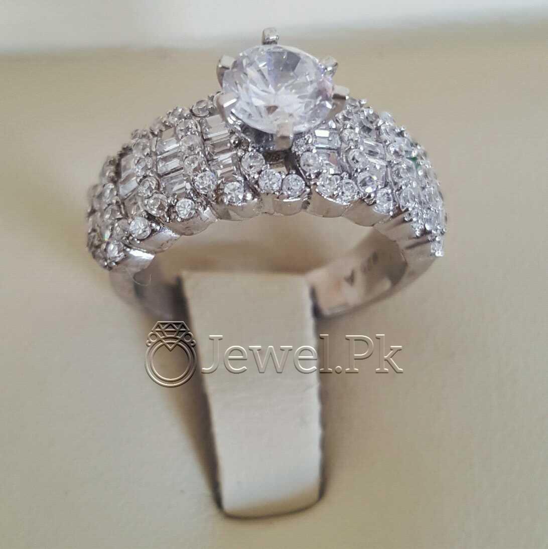 925 Silver Luxury Rings for Ladies Women Silver Rings Woman Handmade Rings 32 natural gemstones pakistan + 925 silver jewelry online