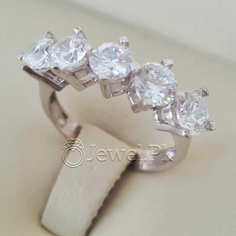 925 Silver Luxury Rings for Ladies Women Silver Rings Woman Handmade Rings 42 natural gemstones pakistan + 925 silver jewelry online