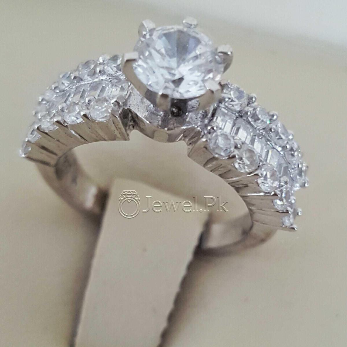 925 Silver Luxury Rings for Ladies Women Silver Rings Woman Handmade Rings 45 natural gemstones pakistan + 925 silver jewelry online