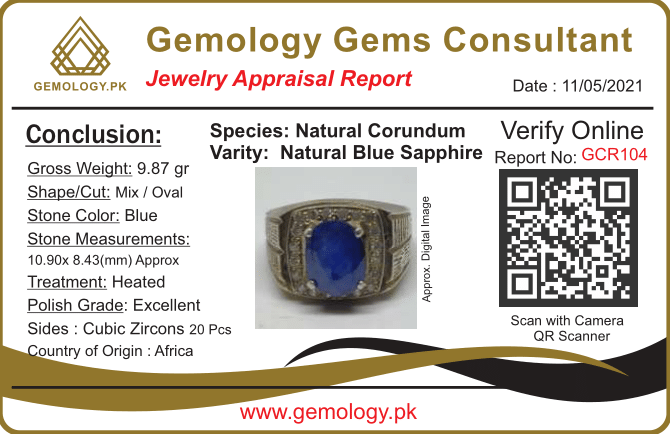 GCR104 1 natural gemstones pakistan + 925 silver jewelry online