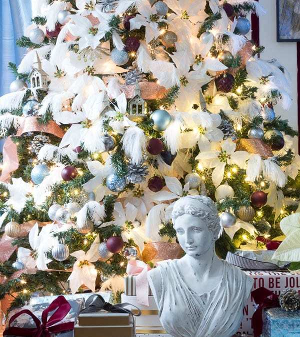 Christmas Tree Reveals || Chic + Romantic + Eclectic= Jeweled Interiors
