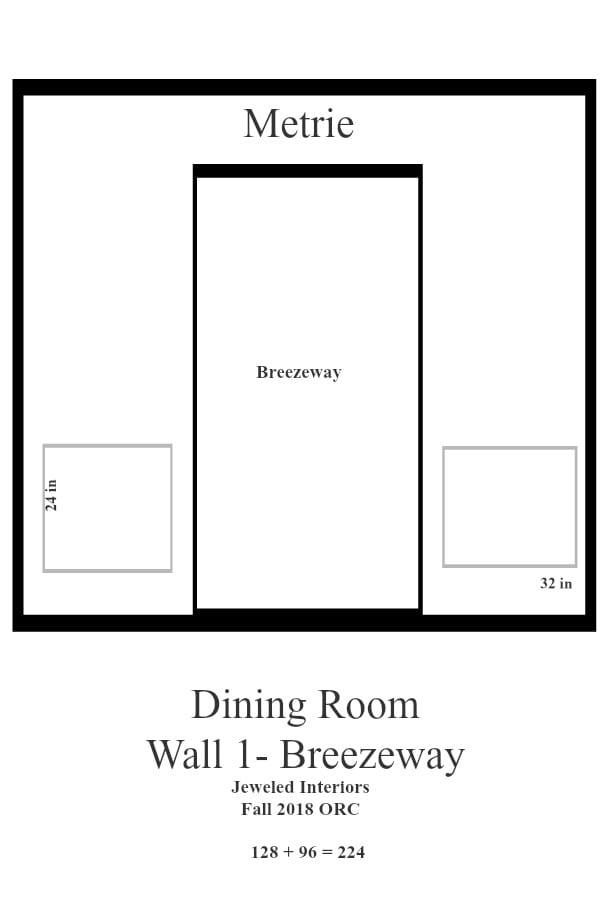 Jeweled Interiors Dining Room Wall 1_breezeway