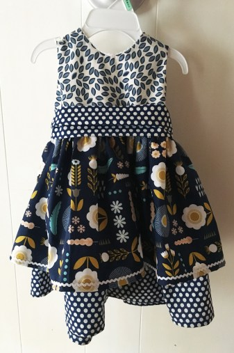 'The Sweet Dress', 100% cotton fabric, size 12 months