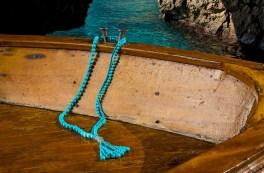 Sautoir Cherie, blue turquoise