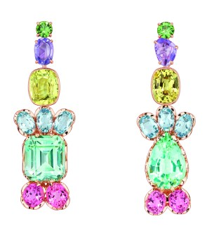 Granville Tourmaline Verte Earrings