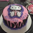 Hello Kitty Zebra Cake