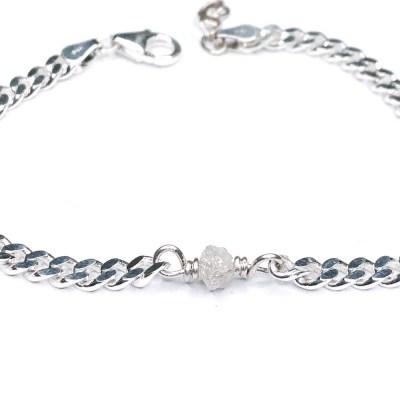 Rough diamond bracelet panser