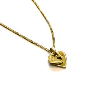 With Love halskæde i guld