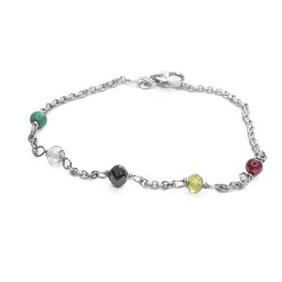 Loved ones bracelet i sølv