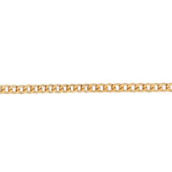 Αλυσίδα Κουρμέτ Χρυσή 50cm 14K