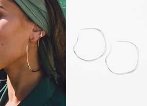 Large VERO Hoops Earrings, Runway Jewelry Trend