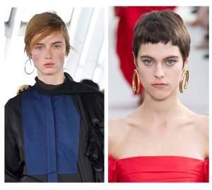 runway jewelry trends 2018 and 2019, hoop earrings