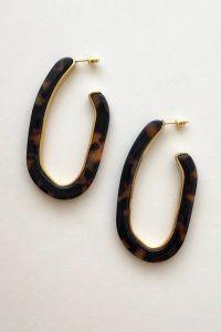 machete earrings celluloid jewelry