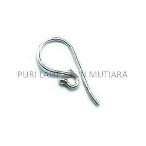 F-009-Sterling Silver Earwire Sold By Pairs