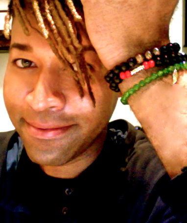 Celebrity Stylist Ty Hunter wearing MM Men's Bracelets