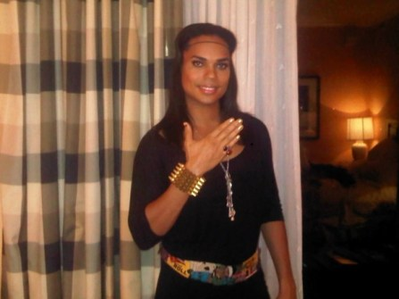 Celebrity Blogger B. Scott wearing a MM Bracelet