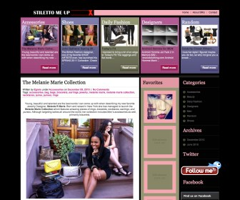 Stilettomeup.com featured MELANIE MARiE with Video December 2010