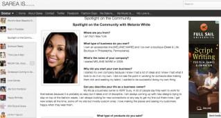 SareaIs.blogspot.com featured MM in April 2012