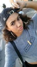 Actress Paige Hurd with her MELANIE MARiE dog tags