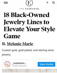 Melanie Marie featured on TheEveryGirl.com June 2020