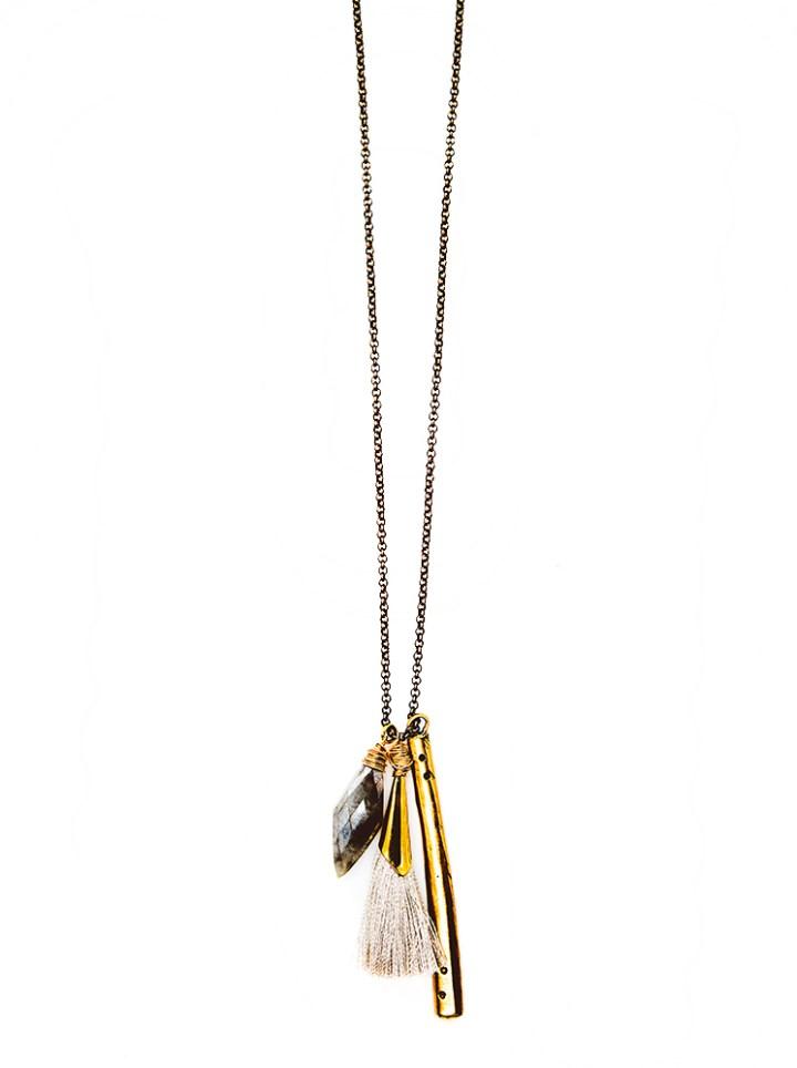 silverite junior lb charm necklace