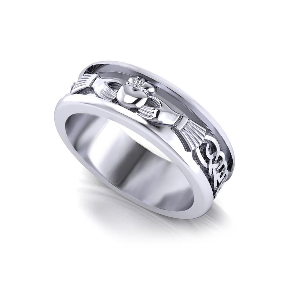 Mens Claddagh Wedding Ring Jewelry Designs