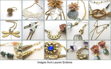 Jewelry designs by Lauren Embree