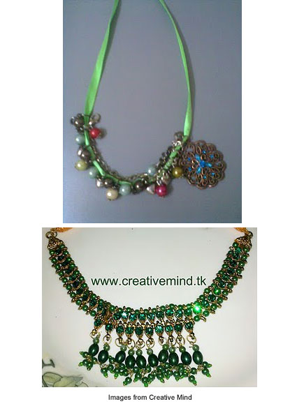 necklaces from Creative Mind