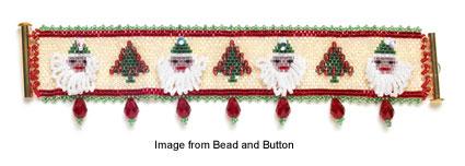 Sweet Santa bracelet