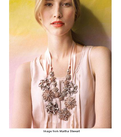 necklace from Martha Stewart