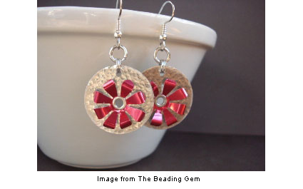 soda can earrings from The Beading Gem