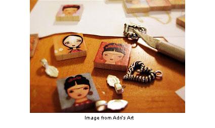 tile pendants