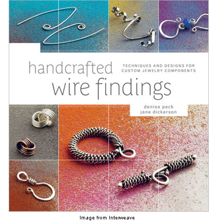 cover of handcrafted wire findings